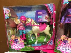 Barbie Doll Her Sister Tawny Pony Horse Ride Stacie Skipper Chelsea Stable Lot | eBay