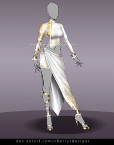 Find my designs in video-games like Dead or Alive 5 and Nebula Realms on Gallery Join my Outfit Adopt group and. Anime Outfits, Cool Outfits, Fashion Outfits, Fashion Design Drawings, Fashion Sketches, Dress Drawing, Drawing Clothes, Diy Kleidung, Anime Dress