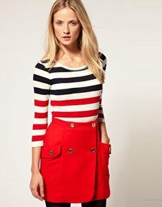 I've never met a striped top I didn't love.
