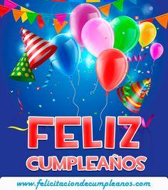 Tarjetas de cumpleaños para enviar por WhatsApp o Facebook | Puerto Pixel | Recursos de Diseño Happy Birthday Messages, Happy Birthday Greetings, Birthday Greeting Cards, Birthday Quotes, Birthday Wishes, Birthday Parties, Card Birthday, Create Birthday Card, Happy Brithday