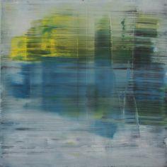 """Koen Lybaert; Oil 2014 Painting """"abstract N° 797"""" #KoenLybaert #Abstract #Art"""