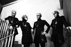 See us die ! Ghost Papa, Ghost Bc, Band Ghost, Ghost And Ghouls, Ghost Photos, Magnum Opus, The Shining, Tobias, Great Bands