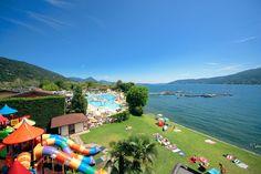 Campeggio Village Isolino Fondotoce di Verbania: Prenotate subito Campeggio Village Isolino in Lago Maggiore
