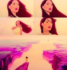 Pocahontas, favorite Disney movie.
