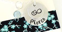 Just Pinned to How To Make It: Personalized Name Necklace Infinity Necklace Personalized Mom http://ift.tt/2oqVwWy