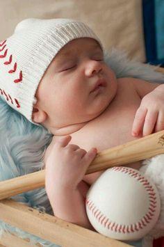 Baseball baby photos.  Copyright rachel farley http://www.rfarleyphotography.com