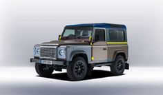 Bespoke Defender by Land Rover x Paul Smith