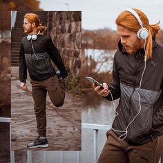 My new blogpost with @puma for all my instagramers. You can see more pics and information on my blog  LINK IN BIO. #sportswear #puma #pumashoes #mensfashion #fashionaddict #redhead #fashion #menwithstyle #redhair #photooftheday #sport #styleinspiration #menswearclothing #look #ginger #picoftheday #gingerhair #manwithlonghair #malemodel #menstyle #outfitoftheday #gingerboy #ootd #follow #gingerbeard #fashionblogger #style #blogger Outfit: @puma Shoes: @puma Headphones: @jaysheadphones Ph...