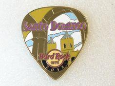 Santo Domingo Hard Rock Cafe Pin Postcard 2012 Guitar Pick Series | eBay