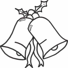 Printable Free Coloring Pages For Christmas Bells