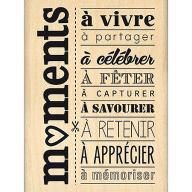 Tampon moments a celebrer French Words, French Quotes, Tampon Scrapbooking, Mini Albums Scrap, E Mc2, Empowerment Quotes, Rockabilly Pin Up, Sweet Words, Tampons