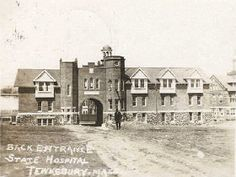 Willard Plan - Asylum Projects Tewksbury State Hospital
