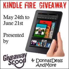 Win a #Kindle Fire! - http://bit.ly/JvhbDy   (ends 6/21)