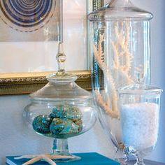 simple dust-free sea decor