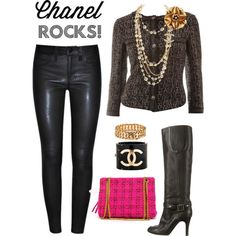 Rock those jeans with Chanel! by julie-price-thiede on Polyvore featuring Chanel and J Brand
