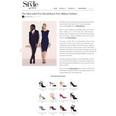 """@malonesouliers in Styloko's The Style Hub  The Shoe Label You Should Know Now: Malone Souliers  """"Immaculately crafted, elegant and sexy: a pair of Malone Souliers might just change the way you look at shoes forever.  We know what you're thinking: another womens shoe brand? """"Surely the world doesn't need another one of those,"""" points out Roy Luwolt, the managing director of Malone Souliers. But the minute we stepped into the Mayfair studio-cum-showroom of the relatively new – and still very…"""