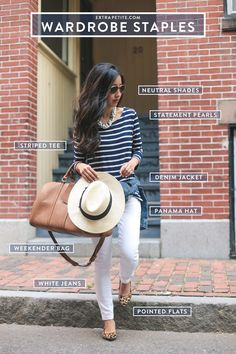 Casual outfit staples // comfy weekend getaway look