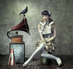 A collection of some vintage, Century fashion photography, along with some Century homages to the retro style of days gone by. High Fashion Photography, Vintage Photography, Art Photography, Emotional Photography, Circus Music, Circus Circus, Circus Theme, Pin Up, La Fashion Week