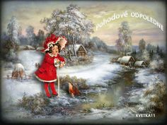Needlework Crafts Full Embroidery DIY Counted Cross Stitch Kits Winter Creek I Dream Pictures, Pictures To Paint, Art Pictures, Watercolor Landscape, Watercolor Print, Landscape Paintings, Winter Images, Winter Pictures, Winter Illustration