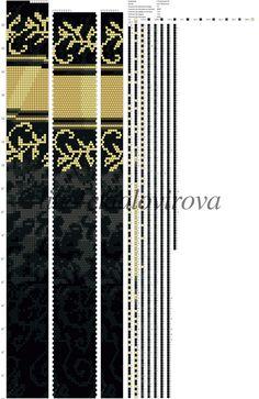 LiliaTalovirova. Схемы для жгутов. Бисер.