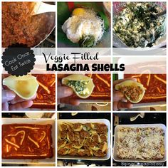 Cook Once, Eat Twice: Lasagna Shells via Being Cheap is Easy