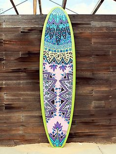Free People Custom Painted Stand Up Paddle Board