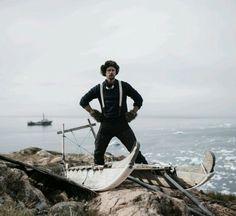 I am Shackleton!  Lol, big dork.  Alex for Save the Arctic Funny or Die