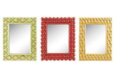 Stoneware Mirror Set on OneKingsLane.com