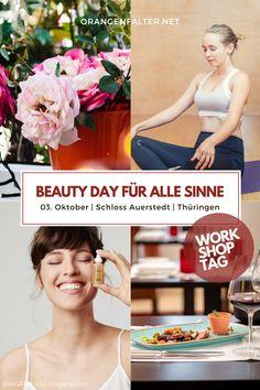 """Das Resort Schloss Auerstedt und Partner laden am 03. Oktober 2020 ein zum Workshoptag """"Beauty Day für alle Sinne"""": Yoga, Floristik Workshop, Ringana Naturkosmetik und eine kulinarische Umrahmung im Restaurant """"Reinhardt's im Schloss"""" machen diesen Tag außergewöhnlich. Ein Tag für dich. Ein Tag für deine beste Freundin. Ein Tag für deine Mutti. Egal wie - er wird eine Bereicherung sein! #workshop #beautyday #ringana #naturkosmetik #floristik #yoga #kulinarik #restaurant #achtsamkeit"""