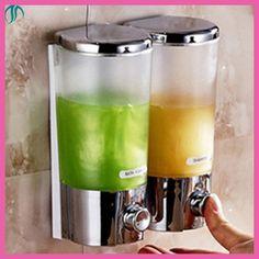 Shampoo Shower Dispenser De Savon Liquide Mural Kitchen Soap Dispenser Wall Hand Liquid Soap Dispenser For Bathroom Washroom