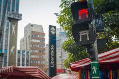 Custom light design abou Liberdade District.