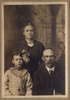 Victorian Era Family Portrait