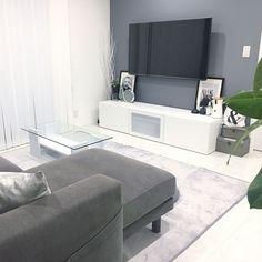 Lounge/IKEA/インテリア/白/リビングダイニング/シンプル...などのインテリア実例 - 2017-08-21 13:18:47 | RoomClip (ルームクリップ)