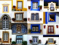 Traditional Portuguese windows, Portugal