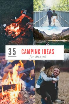 Thinking about camping soon? Check out these 35 awesome camping ideas every couple should try! bonaroo camping, go camping, rustic camping tips Camping Guide, Diy Camping, Beach Camping, Camping Checklist, Camping Essentials, Tent Camping, Camping Hacks, Outdoor Camping, Camping Gear