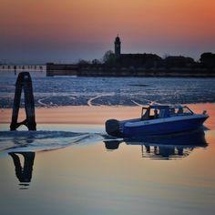 Venice lagoon (presso Venezia, Italia)