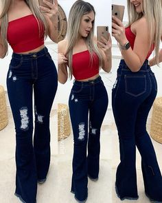 Swag Outfits For Girls, Teen Fashion Outfits, Casual Fall Outfits, Cute Summer Outfits, Girly Outfits, Sexy Outfits, Stylish Outfits, Cool Outfits, Super Flare Jeans