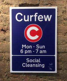 'Curfew' the limited edition artwork by artist Dr D.. Available to buy online at Nelly Duff.