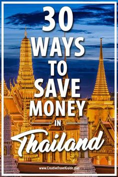 30 ways to save money in thailand travel asia reizen thailan Thailand Vacation, Thailand Travel Guide, Visit Thailand, Asia Travel, Bangkok Thailand, Bangkok Trip, Vacation Food, Thailand Honeymoon, Croatia Travel