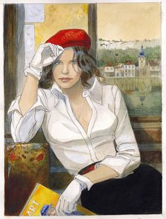 Gibrat - festival de Cajarc 2004 by Jean-Pierre Gibrat - Illustration