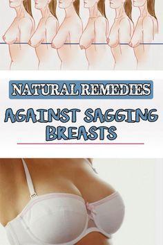 Natural remedies against sagging breasts