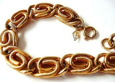 Retro signed Sarah Coventry goldtone by cherrylippedroses on Etsy
