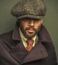 Mens Fashion Casual – Men's style, accessories, mens fashion trends 2020 Gentleman Mode, Gentleman Style, Vintage Gentleman, Best Mens Fashion, Look Fashion, Mode Chic, News Boy Hat, Grown Man, Flat Cap
