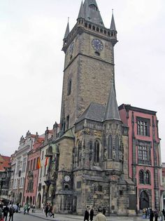 Ayuntamiento de Praga. #Viajes #Turismo #Europa #Praga