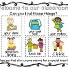 This short and sweet classroom scavenger hunt is the perfect way to keep families engaged during Open House and also helps little ones find the mos...