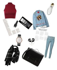 Untitled #5 by kyliesweet on Polyvore featuring polyvore fashion style Pilot RE/DONE Converse Topshop clothing