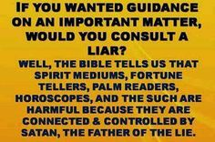 If you wanted guidance on an important matter, would you consult a liar?