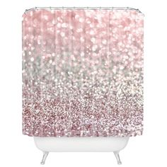 Breland Snowfall Shower Curtain Girl Bathrooms Dream Bathroom Ideas Bling