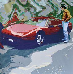 """Mostra """"Il viaggio"""" di Amato Patriaca, dal 16 gennaio al 10 febbraio 2013 allo Spazio Oberdan della Provincia di Milano. """"Ferrari"""""""