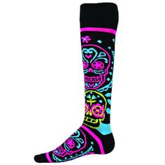 Red-Lion-Muertos-Day-Of-the-Dead-Socks great stocking stuffer